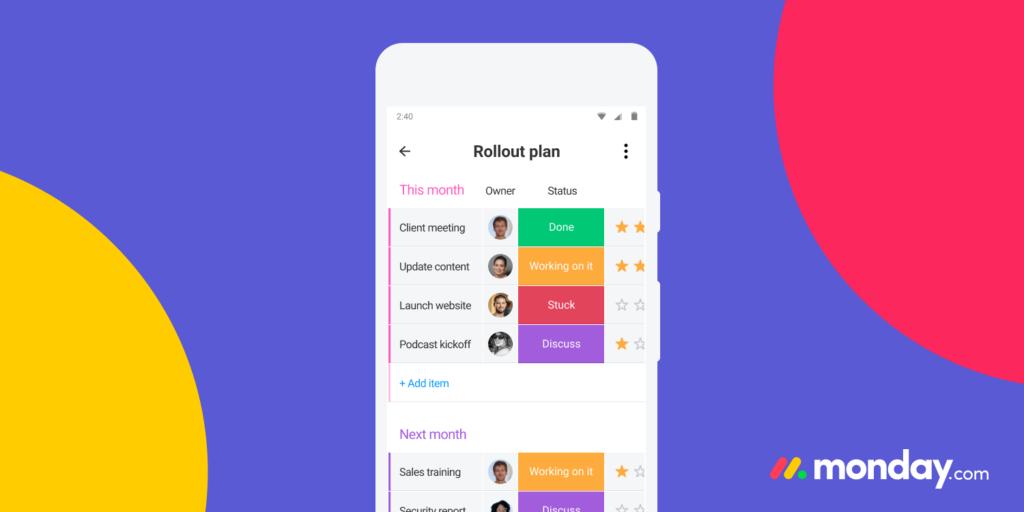 Juggling tech & product: Meet monday.com Mobile Team